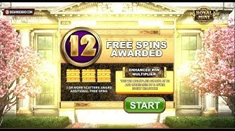 ROYAL MINT MEGAWAYS (BIG TIME GAMING) ONLINE SLOT