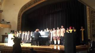 Lincoln choir students perform China first lady