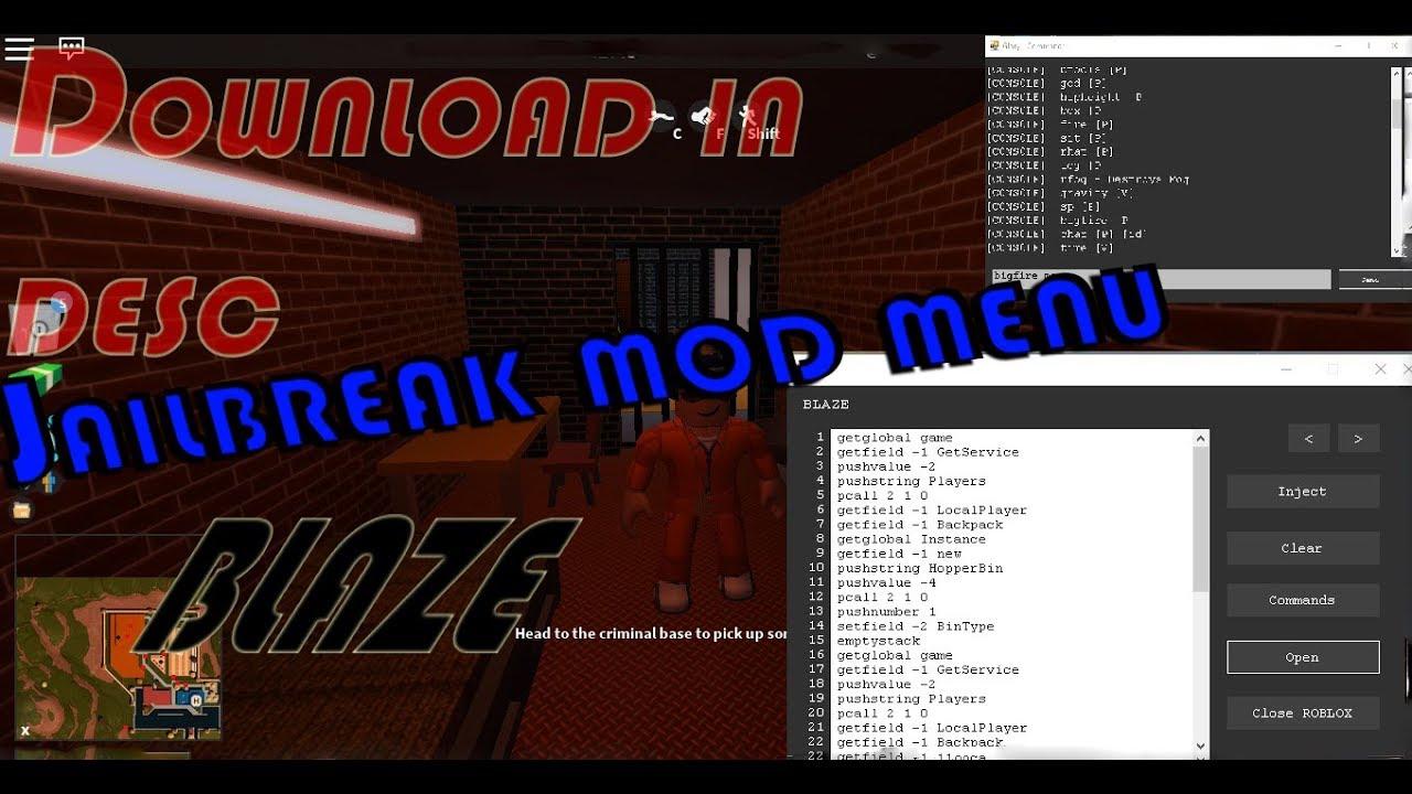 mods for jailbreak roblox