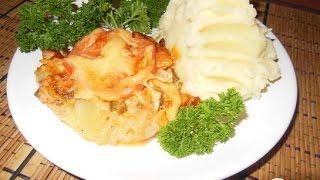 Запеканка из кабачков и курицы  Пошаговый рецепт
