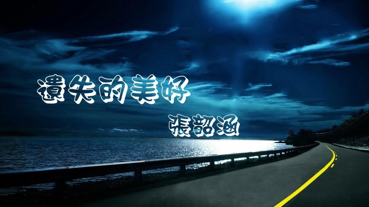 遺失的美好 ~ 張韶涵 ( 動態歌詞 )