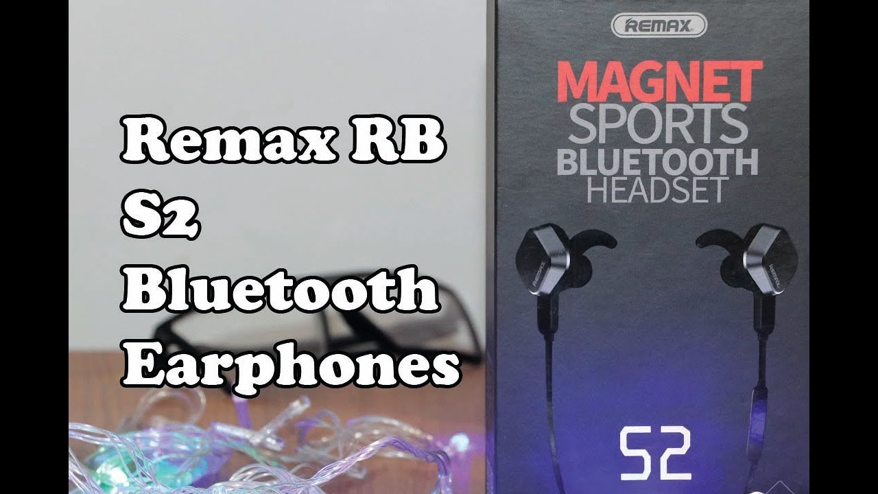 Remax Rb S2 Bluetooth Earphones Unbox Review Best Budget Headphones Under 1500tk Youtube
