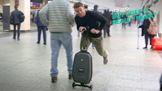 Scooter Suitcase | It's Cool, But Does It Really Work?