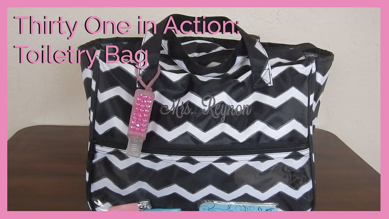Pack With Me Thirty e Toiletry Bag