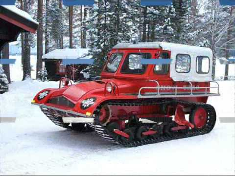 Military Vehicles For Sale >> Aktiv Snow-Trac, Trac-Master, Snow-Master - YouTube
