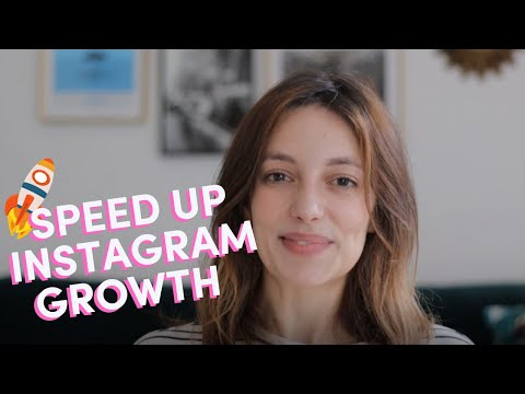 HOW TO BUILD AN INSTAGRAM FOLLOWING FAST WITHOUT BUYING FOLLOWERS // 5 TIPS FOR ORGANIC GROWTH