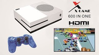 The X-Game-HDMI 600 in One Video Game Console Unboxing and Review