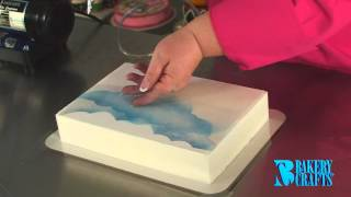 Fun with the Cake Decorating Airbrush
