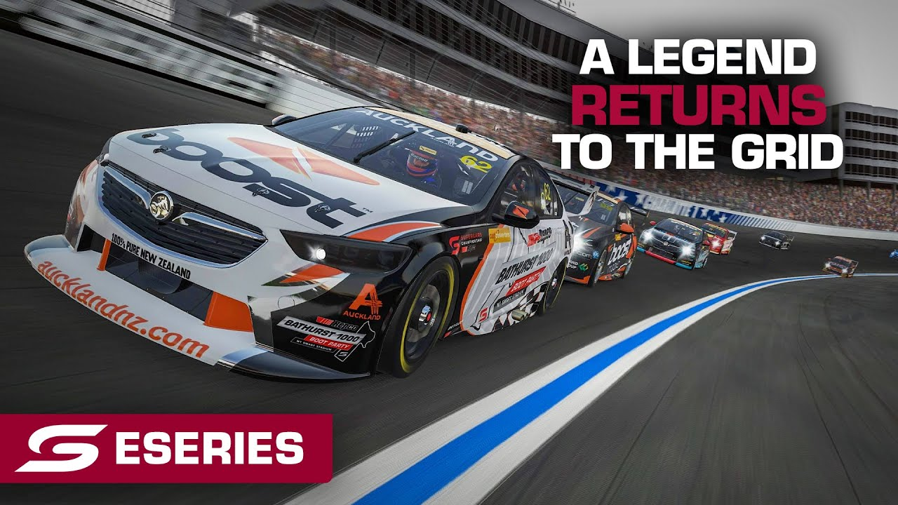 A legend returns to the grid - Cash Converters Eseries Championship | Supercars 2021