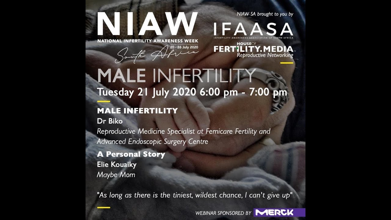 MALE INFERTILITY WEBINAR NIAW 2020