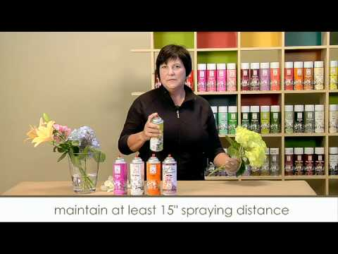 howTO spray FLOWERS.mov - YouTube