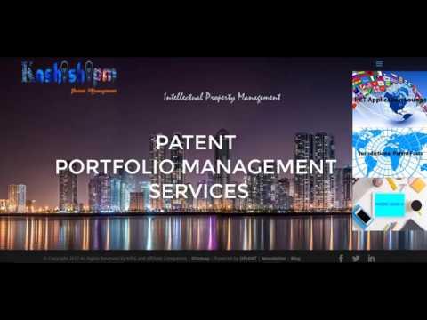 KashishIPM Patent Portfolio Management