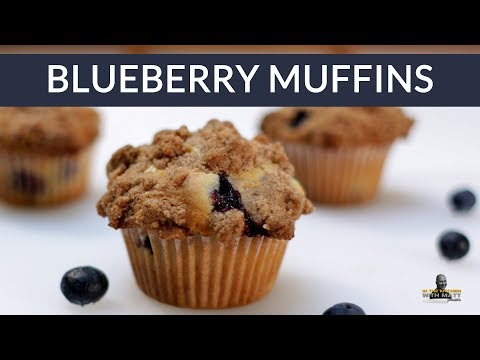 How to Make Blueberry Muffins | Easy Homemade Blueberry Muffins Recipe Short Version