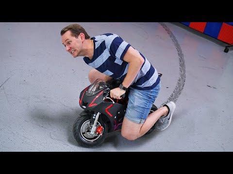 Mini-Motorcycle?! | DOPE or NOPE?
