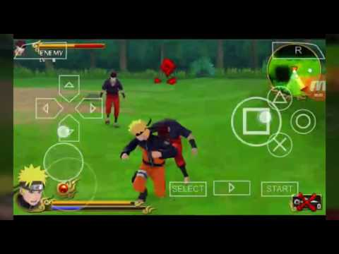 Naruto Shippuden Legends Akatsuki Rising Chapter 1 Ppsspp Link Of The Game In The Description