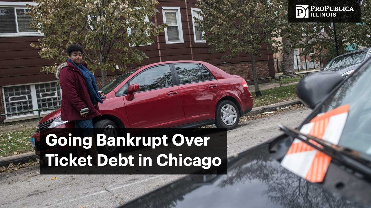 How Chicago Ticket Debt Sends Black Motorists Into Bankruptcy