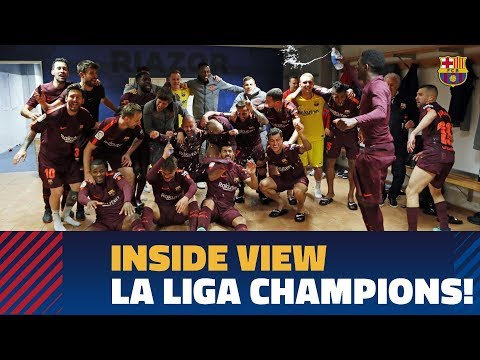 [BEHIND THE SCENES] The Day La Liga Was Won