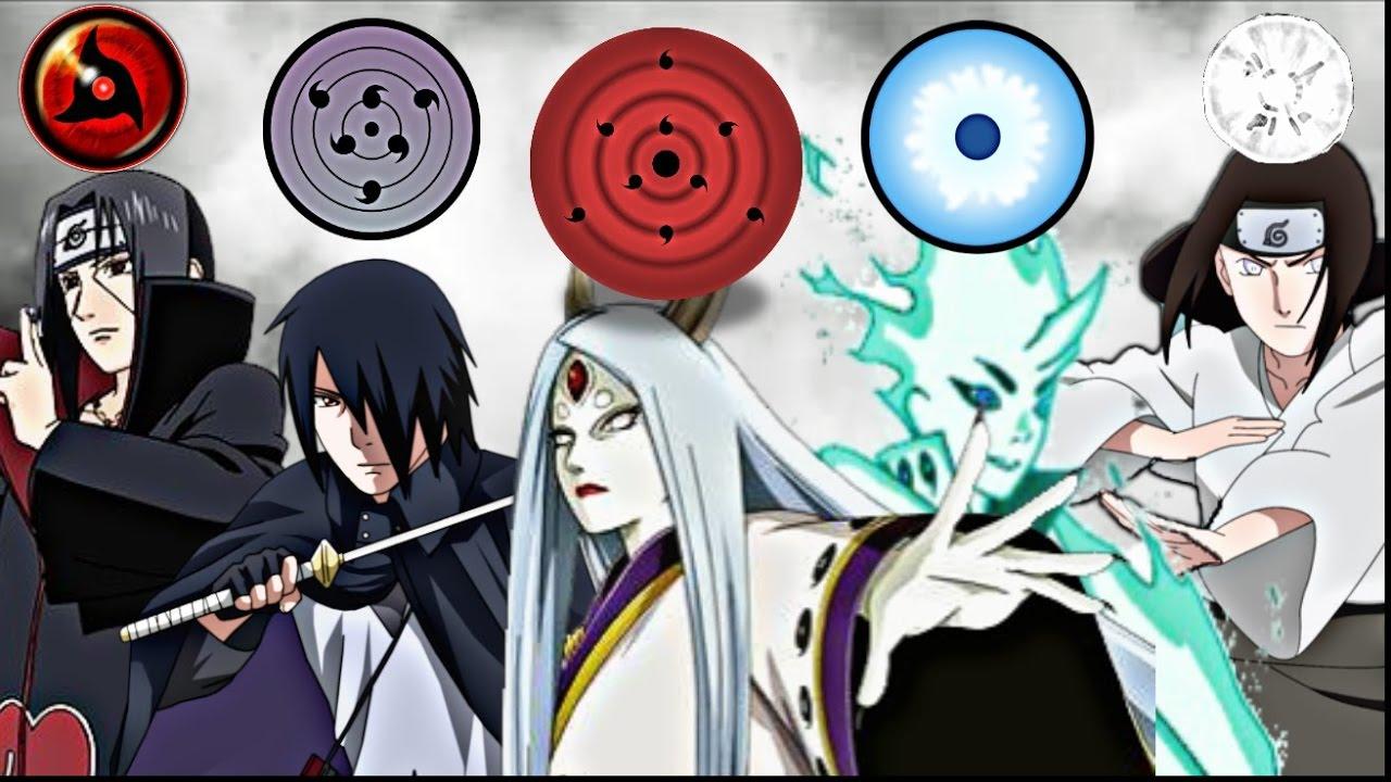 6 Kekuatan Mata Terkuat Di Anime Naruto