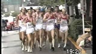 giovanni de benedictis -Campionati del mondo di atletica leggera - Tokyo '91 - 20km di marcia 2/5
