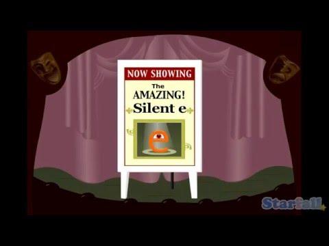 """The Amazing Silent-e"" A Starfall™ Movie From Starfall.com"