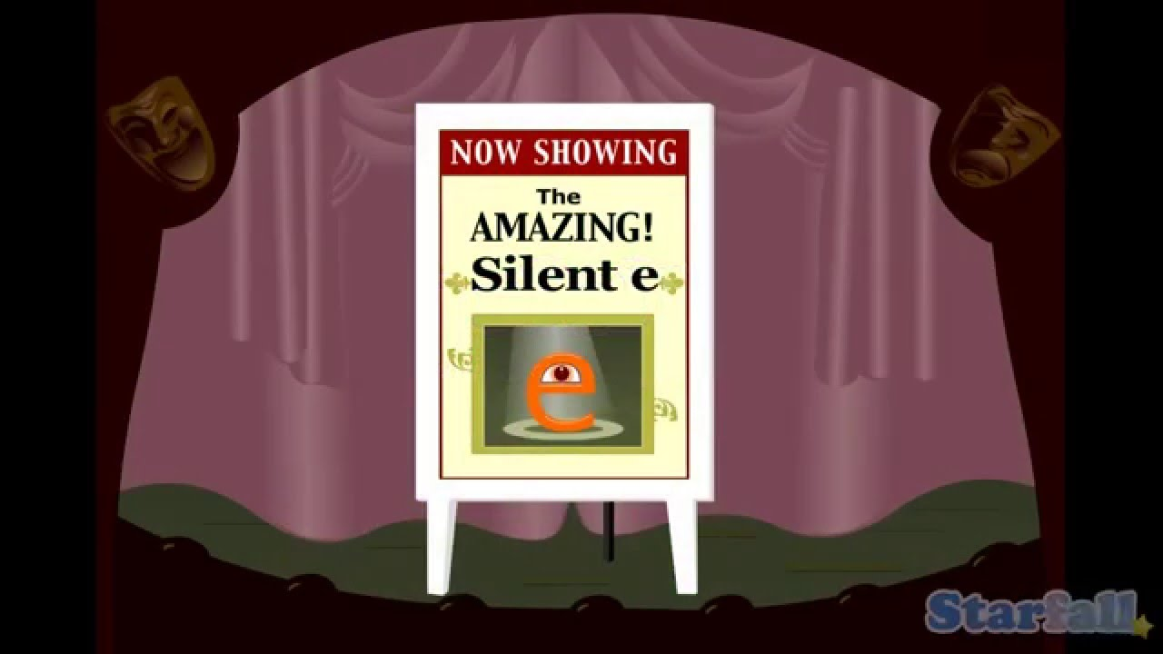 The Amazing Silent E A Starfall Movie From Starfallcom Youtube