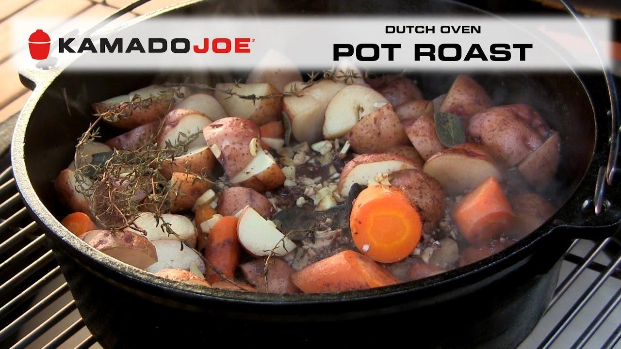 Kamado Joe Dutch Oven Pot Roast
