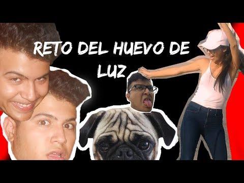 EL RETO DEL HUEVO CRUDO DE LUZ :)
