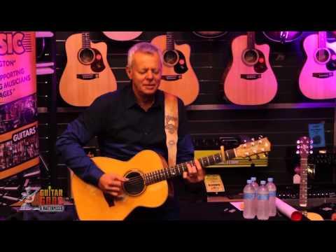 Tommy Emmanuel performs at Gary Hydes Music Flemington Melbourne Part 2