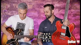 Axes & Artifacts - Gibson '58 & '61 ES-335 & '60 ES-330