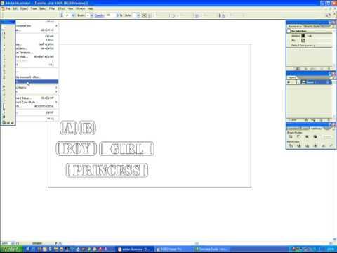 Convert Illustrator Cs2 Files To Graphtec Gsd Youtube