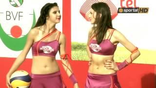 Look at the sexy cheerleaders of Mtel Beach Masters
