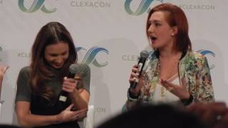 WayHaught at ClexaCon 2017 Reaction to Characters Survival