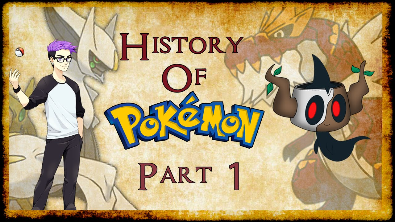 complete history of the pokemon world part 1 feat speqtor youtube