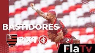 Bastidores Flamengo 2x1 Internacional