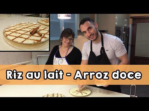 Recette Du Riz Au Lait - (Arroz Doce) Avec Maria Rosa Et Rodolphe (Ro Et Cut)