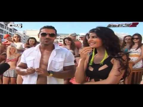 Jacqueline Becomes Bakra   Race 2 Behind The Scenes   YouTube