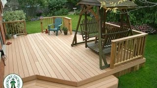 Deck Plans Step By Step   How To Build A Deck With Plans Instructions _blueprints_diagrams