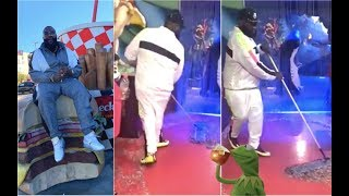 Rick Ross Tries Being A Janitor + Michelle Obama Learns To Do The Whoa + Steve Harvey Clowns Around