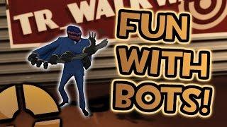 Fun with bots on TR_Walkway