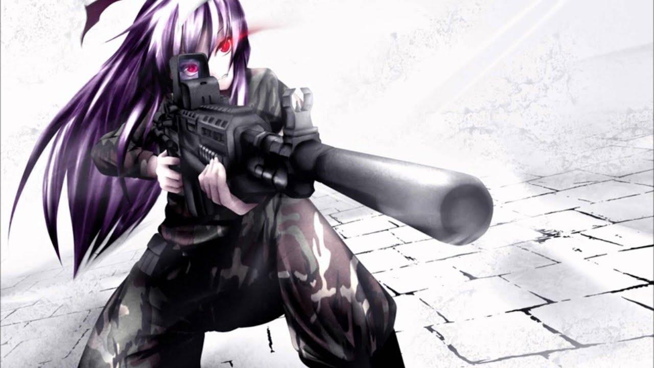 Anime Sniper Girl Wallpaper Hd 東方 Metalcore Traditional Undead Corporation 夜啼く兎は夢を見る