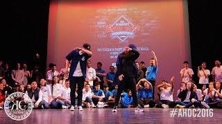 Johnathan Shay & Sorah Yang - Showcase - The Academy Hip-Hop Dance Competition 2016