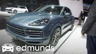 2019 Porsche Cayenne Turbo First Look: Frankfurt Auto Show