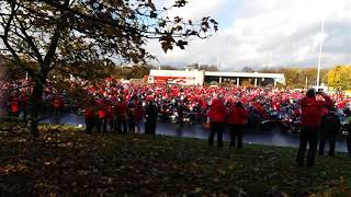 M60 ring of red 2018. Remembrance day ride.
