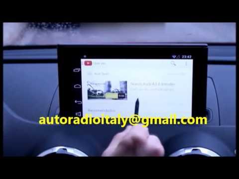 Autoradio Audi A1 : autoradio navigatore android audi a3 q3 a1 dal 2010 wifi dvd gps bluetooth touchscreen youtube ~ Farleysfitness.com Idées de Décoration