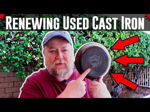 Renewing A Used Cast Iron Pan