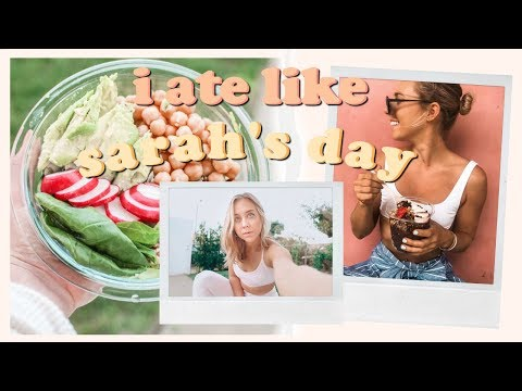 i ate like sarah&39;s day for a day
