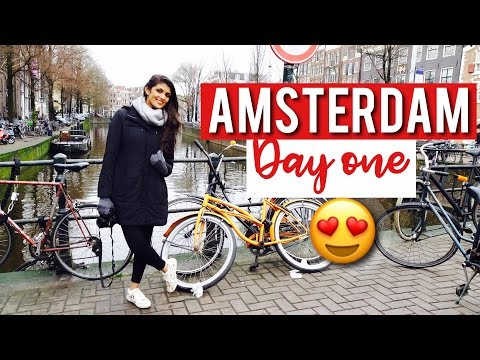 AMSTERDAM VLOG || Travel Tips || Vegan Food
