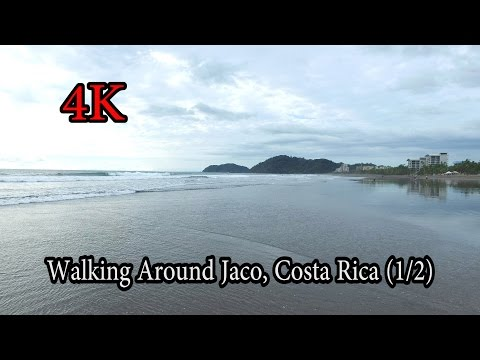 4K - Walking around Jaco, Costa Rica Nov 2016 (1/2)