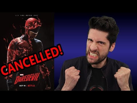 Netflix Daredevil CANCELED! (My Thoughts)