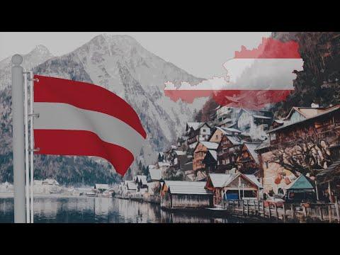 AUSTRIA Flag Animation   Land der Berge, Land am Strome   National Anthem   2020 [4K]
